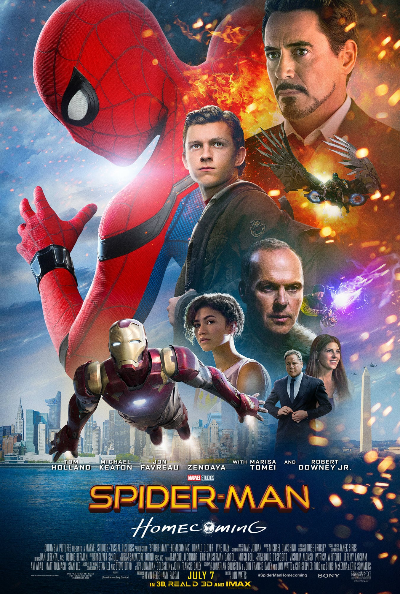 alternatives of watch spiderman homecoming online