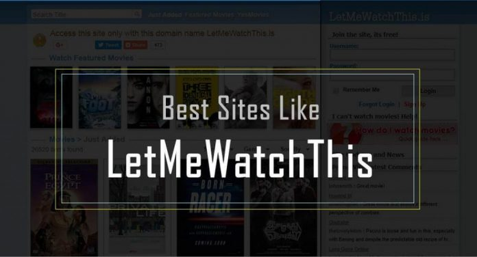 Sites like LetMeWatchThis