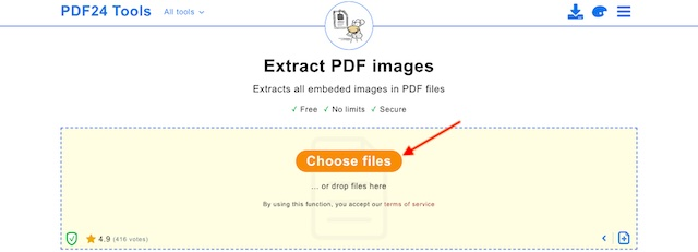 Extract Images from PDF Documents