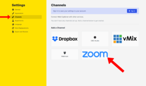 Turn on Closed Captions in Zoom