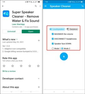 Get Water Out of Your Phone Speaker