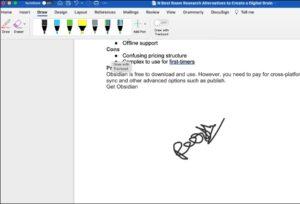 Add Signature in Microsoft Word